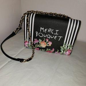 Nwt Betsey Johnson 'Merci Bouquet' Shoulder Purse